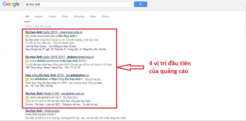 Quảng cáo google tại Nam Định