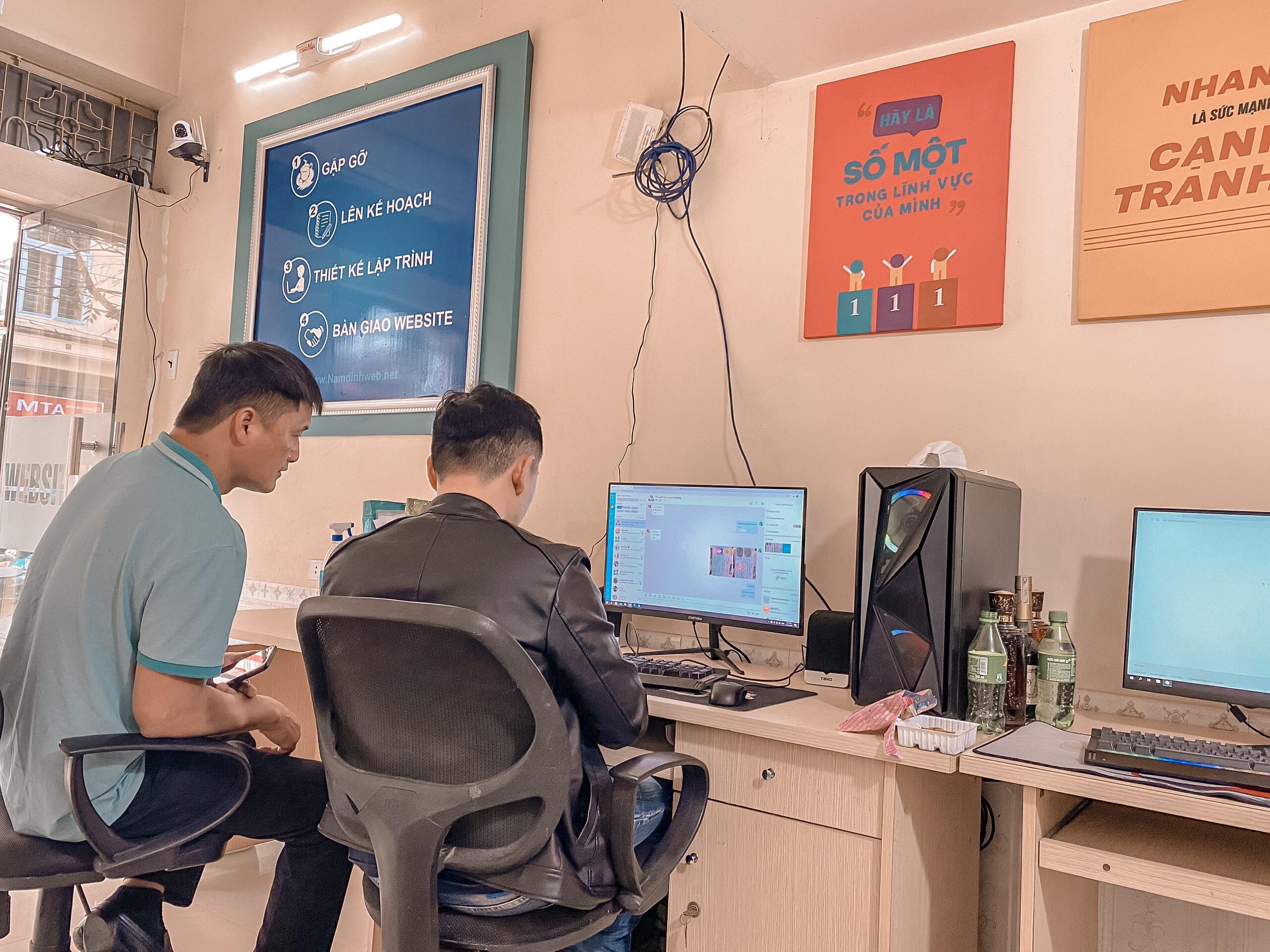 Thiết kế website theo yêu cầu tại Nam Định