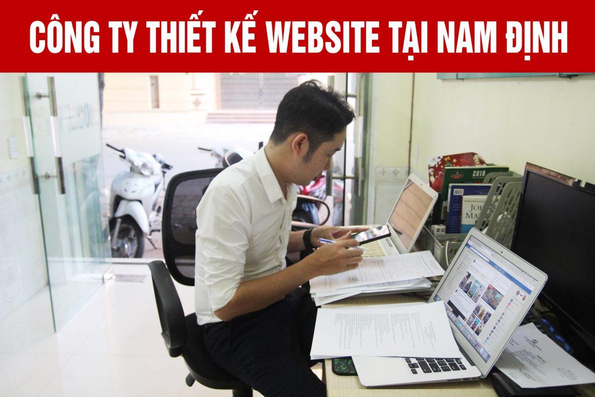Thiết kế web theo yêu cầu tại Nam Định