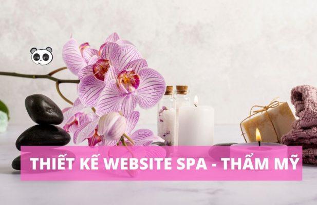 Thiết kế website spa tại Nam Định